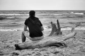Morze zawsze nastraja mnie melancholią
