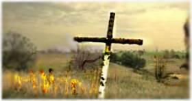 biały krzyż* - triolet
